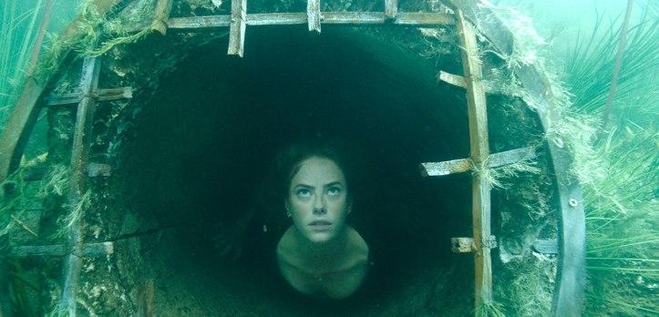 Crawl 2019 Haley sous l'eau verdatre