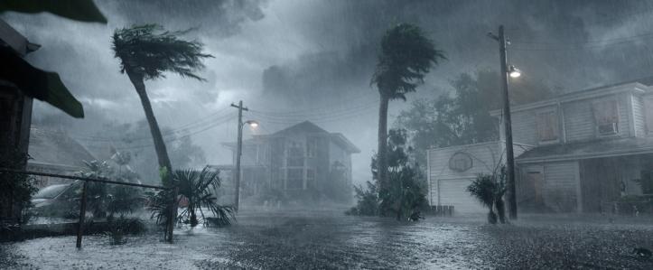 Crawl 2019 la maison familiale des Keller sous un ouragan