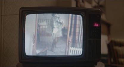 Le Daim télévision où apparait George en train de se filmer