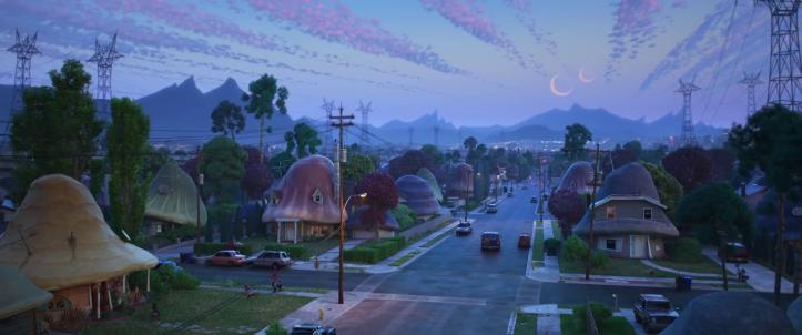 En Avant DIsney Pixar banlieue