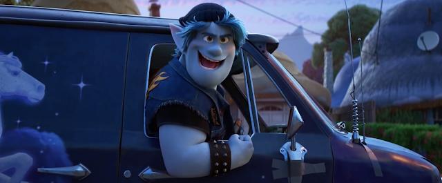 En avant Disney Pixar Barley fier dans son van