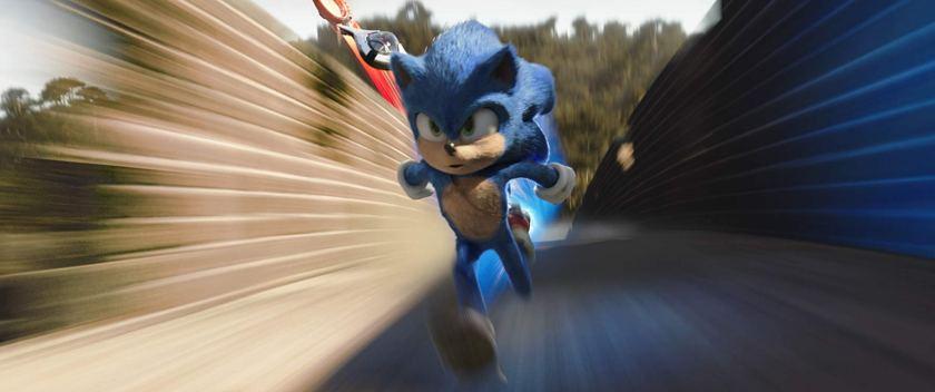 Sonic-2020-hérisson-bleu-courant-très-vite-en-étant-poursuivi-par-un-avion