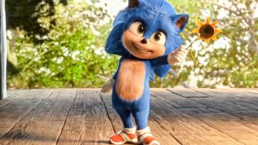 Sonic-le-film-2020-baby-sonic-tenant-une-fleur