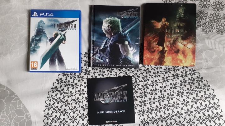 Final-Fantasy-VII-Remake-Edition-Deluxe-PS4-contenu
