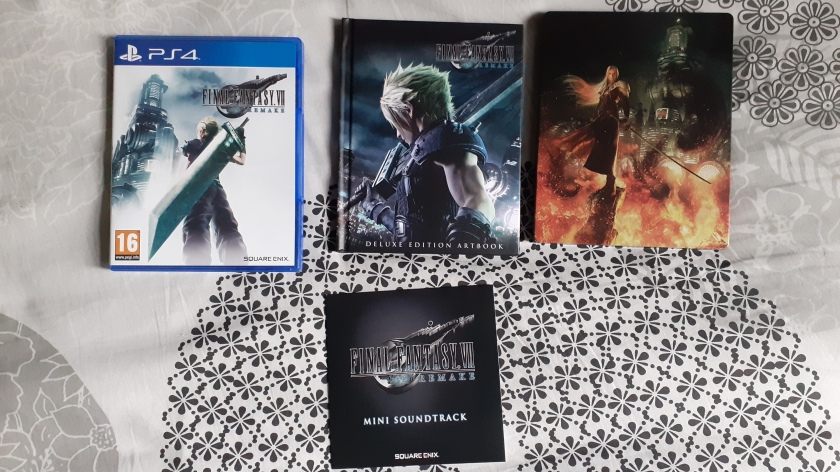 Final-Fantasy-VII-Remake-Edition-Deluxe-PS4-contenu