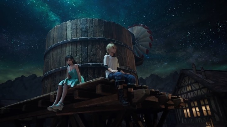 final-fantasy-vii-tifa-et-cloud-enfants-admirent-le-ciel-la-nuit