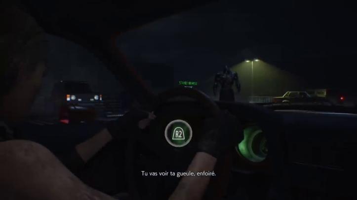 Resident-evil-3-remake-jill-dans-une-voiture-voit-le-nemesis-au-loin
