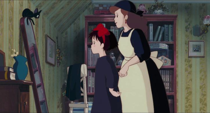 Kiki-la-petite-sorcière-kiki-et-sa-mère-devant-un-miroir